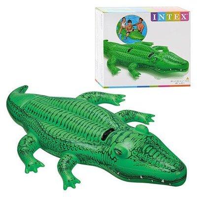 Плотик для плавания «крокодил». 1 местный. 58546