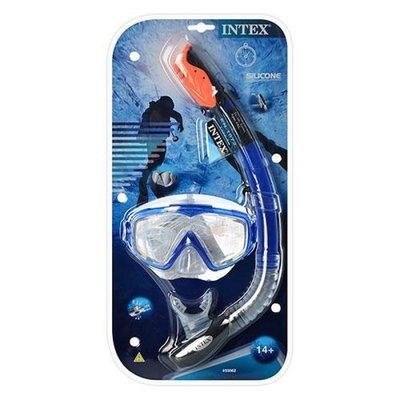 Набор для подводного плавания маска трубка от 14 лет. 55962