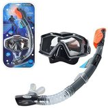 Набор для подводного плавания маска трубка от 14 лет. 55961