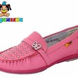 Туфли макасины тм шалунишка р. 31-36 для девочки