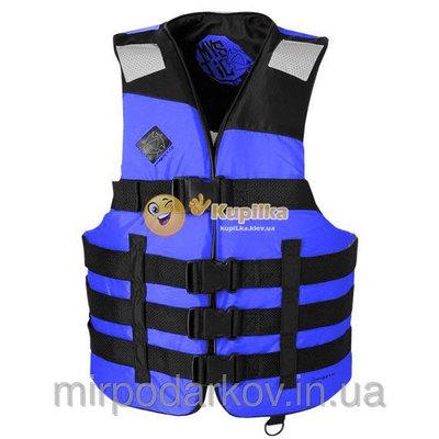 Спасательный жилет AIR new BLUE рыбалка и охота и спорт