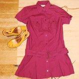 Платье-Рубашка sports b.p.c. 100% коттон S-M р.