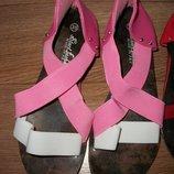 Распродажа Босоножки резинки,летняя обувь,ассорти цветов,моделей р.25,26,27,28,29,30,31,32,33,34,35