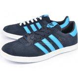 Кроссовки замшевые Adidas Gazelle мужские синие