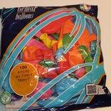 Воздушные шарики пастель 19 см по 90 коп