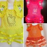 Детское платье на 1-4 года