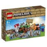 LEGO Minecraft 21116 Crafting Box Конструктор Лего Майнкрафт Верстак