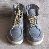 Легкие утепленные кожаные ботиночки Roberto Santi Active. Италия. 40 р