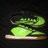 яркие кроссовки Fila, 19,5 см стелька