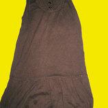 Теплый сарафанчик в школу,рост 122-128 см