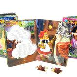 Книга-Пазл детская Сказки Собираем и читаем Danko-toys, Украина