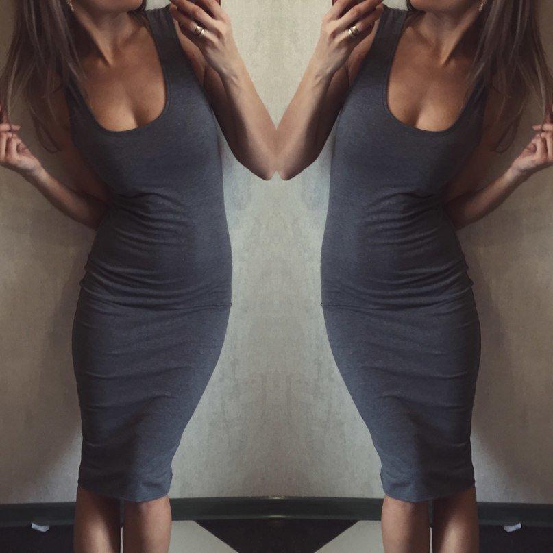 Платье в обтяжку летнее
