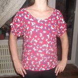 блузка, блузка в бабочки