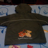 Демисезонная курточка 6мес-18мес
