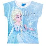 Футболки Холодное Сердце Frozen, футболка с анной и эльзой