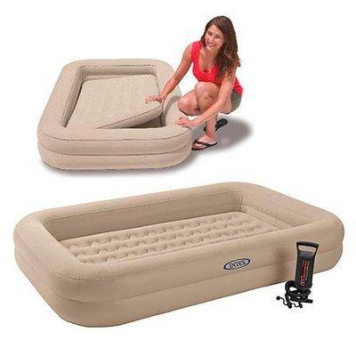 Велюровая кровать, надувная. 66810