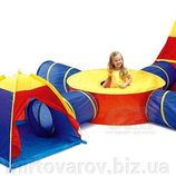 Детская игровая палатка-туннель IGLOO 7 в 1. Польша