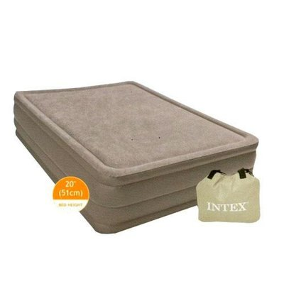 Велюровая кровать, надувная. 67954