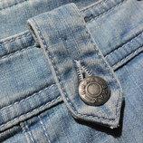 Небесно голубые прямые летние джинсы Brax Jeans
