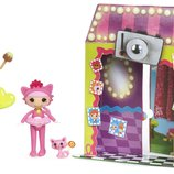 Mini Lalaloopsy Silly Fun House Doll - Jewel Sparkles Мини Блестинка Лалалупси