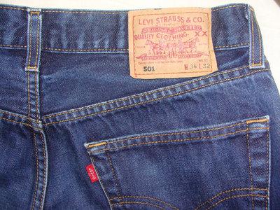 мужские джинсы Levis 501 34р идеал оригинал Diesel
