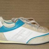 Легчайшие мягкие кожаные кроссовки на плоской подошве. Hogan Италия.40