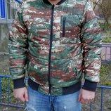 XL Burton Parker демисезонная двухсторонняя мужская куртка бомбер