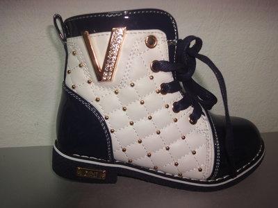 Утепленные деми ботинки 26-28 р. GFB на девочку весенние, осенние, флисе, дівчинку, обувь, утеплені