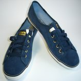 Кеды мокасины замша синего цвета бренд Keds из Сша р. 39