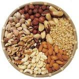 Орехи-1 кг-фундук,кешью,фисташки Иран ,миндаль,кедровые орешки очищеные.