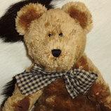 шикарная мягкая игрушка шарнирный мишенька Boyds Сша оригинал 32 см