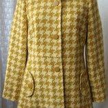 Пальто женское модное демисезонное шерсть бренд Principles р.48 5807