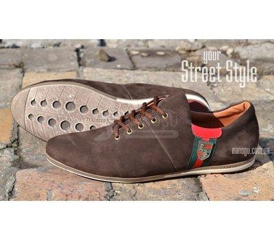 Туфли замша Porshe Design мужские натуральные кожаные