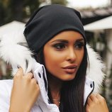 Женская шапка демисезон в наличии