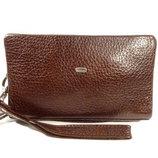 Клатч кожаный мужской коричневый Desisan 250-019 Турция