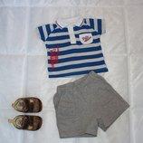 футболка поло тенниска Early days 6-9 мес