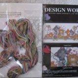 Набор для вышивания Angel Cats пр-во Design Works США