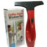 Вакуумный скребок для окон Cordless Electric Window Vac