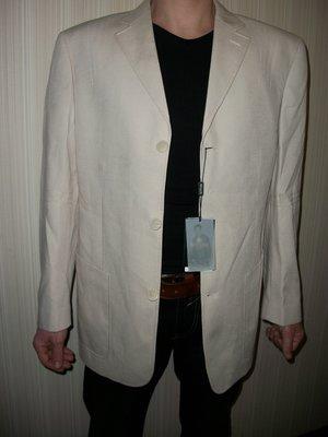 светлый пиджак мужской белый есть большие размеры