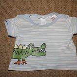 крутые футболки футболка H&M Mothercare 0-3 6-9 мес