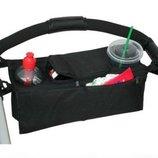 Органайзер бутылочек на коляску черный 4012481