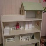 Четырехэтажный домик для кукол Лол с террасой