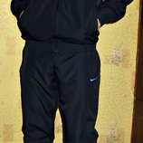 Спортивный костюм Nike плащевка темно-синий с бирюзой Весна.