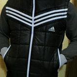 Жилетка мужская Adidas черная . Весна - осень.
