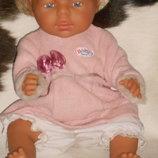 шикарная кукла-пупс беби борн Baby Born Max Zapf Германия винтаж оригинал клеймо 43 см