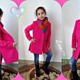 Кашемировое пальто для девочек