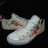 Яркие кеды Converse 34р,ст 22 см.Мега выбор обуви и одежды
