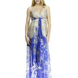 Летнее длинное платье сарафан Rica Mare для беременных