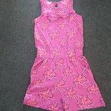 Фирменное платье-шорты Smile and be happy на 10-11 лет-100 % cotton