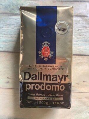 Кофе Dallmayr Prodomo в зернах 500 г, Германия